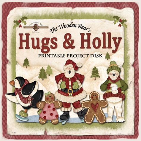 HugsHollyDiscSleeveFront2